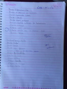 Planejamento de Um Dia